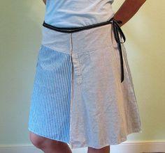 Falda con camisas