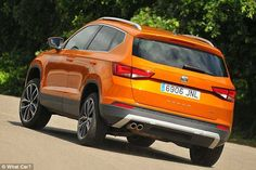 The Ateca is the latest model from Seat and its first ever SUV. It shares a platform with the VW Tiguan, so it should be good