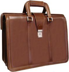 APC Litigator Leather Executive Briefcase