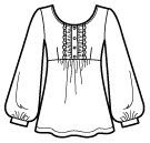 I will sew this for myself soon. Ladies Who Lunch, Clothing Sketches, Fashion Illustrations, Pattern Fashion, Fasion, Tunics, Sew, Tunic Tops, Patterns