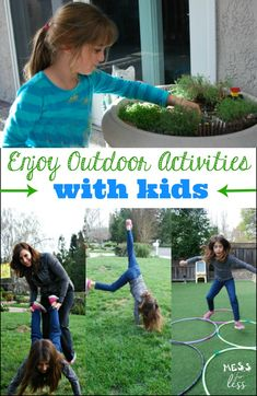 Fun and easy ways to enjoy outdoor activities with kids - even if you suffer from allergies! Outdoor Activities For Kids, Spring Activities, Activities To Do, Games For Kids, Crafts For Kids, Motor Activities, Leiden, Family Fun Day, Outdoor Fun