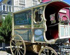 Medicine Show Wagon