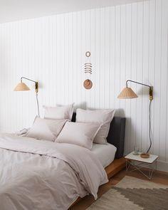 e42708a18f1 Parachute Home Full Venice Bedding Set in White Percale