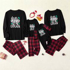 Family Holiday Pajamas, Family Christmas Outfits, Matching Family Christmas Pajamas, Family Pjs, Christmas Pjs, Matching Pajamas, Matching Family Outfits, Kids Christmas Shirts, Family Clothes