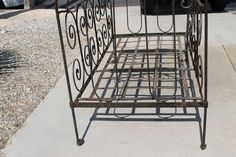 Art Nouveau Metal Daybed | From a unique collection of antique and modern beds at https://www.1stdibs.com/furniture/more-furniture-collectibles/beds/