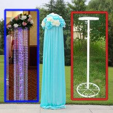 Marco del plomo del camino 10 unids/lote boda plomo Marco, soporte, soporte, apoyo columnas de la boda decoraciones de la boda