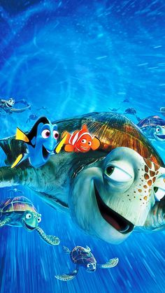 Pin for Later: 33 Magical Disney Wallpapers For Your Phone Finding Nemo Disney Pixar, Disney Animation, Walt Disney, Cute Disney, Disney Art, Animation Films, Best Iphone Wallpapers, Wallpaper Iphone Disney, Cute Wallpapers