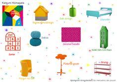 Color Puzzles by Katsumi Komagata and a #moodboard #book