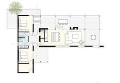 moderne case study prefab bungalow