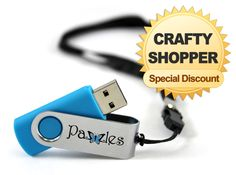e69bc9a3e6e New Crafty Shopper Special for Craft Room Members! Get this 2GB USB Thumb  Drive with