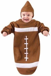 Football Baby Bunting Costume