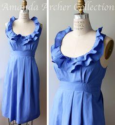 0c1236bd0c 12 Best Cornflower blue bridesmaid dresses images