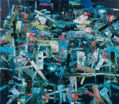 Tomory Dodge. Modane. 2009. Oil on canvas. 83 x 95 inches