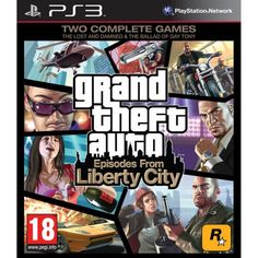Grand Theft Auto: Episodes from Liberty City Игра для PS3