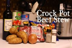 Easy Beef Stew crock pot recipe from The Mom Creative
