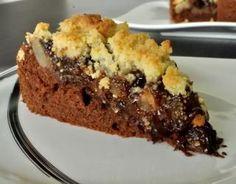Vegan Apple Cake, Vegan Fruit Cake, Chocolate Fruit Cake, Easy Apple Cake, Fresh Fruit Cake, Chocolate Recipes, Pear Dessert, Breakfast Dessert, Dessert Recipes
