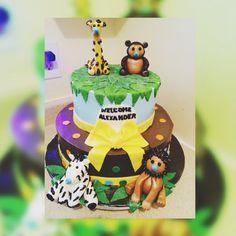 Delicious cake, enjoy the zoo!