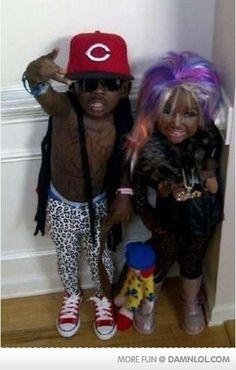 ahhh baby nicki and lil wayne