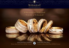 WELLENDORFF THE FINEST GERMAN JEWELLERY SINCE 1893 Made in Germany | LU: 2013.04.19