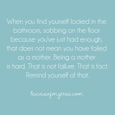 The painful truth is that even if people told you how difficult it really is to be a mother, you'd never believe them anyways. Some things you just have to experience for yourself to know for sure - single mother quotes - motherhood Hard Quotes, Great Quotes, Quotes To Live By, Funny Quotes, Inspirational Quotes, Motivational, Awesome Quotes, Daily Quotes, Gentle Parenting
