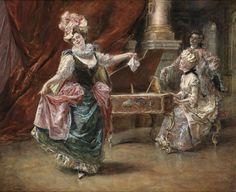 Painterlog.com: Eduardo Leon Garrido (Spanish painter, 1856-1906) ludikosior.blogspot.com1600 × 1304Buscar por imagen The dance performance