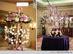 Fabulous & Unique Escort Card Table Arrangement Ideas | Nigerian Wedding