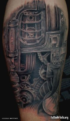 industrial tattoos - Google Search