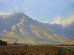 marc hanson | Marc Hanson, Hex River Valley, oil, 30 x 40.
