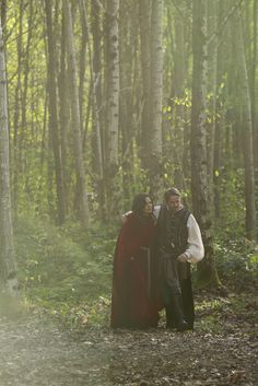 "Regina and Robin Hood - 5 * 8 ""Birth"" #OutlawQueen"