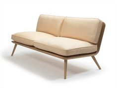 Upholstered 2 seater sofa Spine Lounge Collection by FREDERICIA FURNITURE   design Space