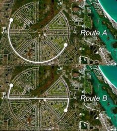Which distance is shorter? Teaching Schools, Teaching Math, Math Education, Teaching Geometry, Math Quotes, Precalculus, Math Vocabulary, Math Word Problems, Maths Puzzles