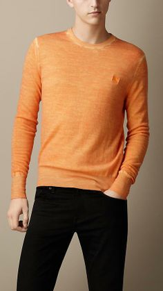 Burberry Brit Double Dyed Merino Wool Sweater @Joseph Cohen Schutt