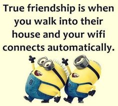 Memes funny friendship pictures of 54 ideas Funny Minion Pictures, Funny Minion Memes, Minions Quotes, Funny Jokes, Hilarious, Funny Pics, Minion Humor, Funny Sayings, Funny Images