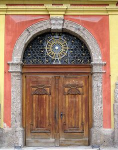 Door in Innsbruck by Mathias Bigge on http://commons.wikimedia.org/wiki/File:Innsbruck-0006.JPG