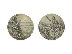 Summer Games Amsterdam 1928 Medal