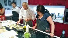 Con @plademunt , @jesusalmagro y @solanoluisa. Nutrición + cocina= gastronomía inteligente