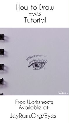 How to Draw the Eyes: Step by Step for Beginners Free Printable PDF - kunst illustration How To Draw Anime Eyes, You Draw, Learn To Draw, Draw Eyes, How To Sketch Eyes, How To Draw Eyelashes, Pencil Drawings For Beginners, Pencil Art Drawings, Art Sketches