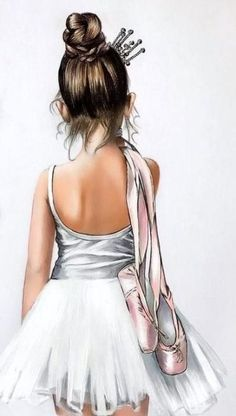 Ideas For Dancing Girl Drawing Beautiful Ballet Dancers Art Ballet, Ballet Painting, Ballet Dancers, Ballerinas, Ballet Girls, Ballet Drawings, Dancing Drawings, Dance Photos, Dance Pictures
