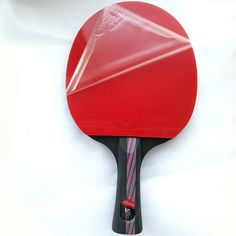 Best Price Hybrid Wood Brand Quality Table tennis racket double face Pimples-in blue rubber Ping Pong Racket tenis de mesa Pimples On Face, Table Tennis Racket, Shake Hands, Indoor Games, Rackets, Paddle, Carbon Fiber, Pure Products, Tableware