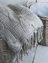 Chunky knit blanket! || CONTEMPORARY | Cottage