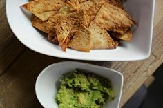 Is there really anything better than crisps with dip and night with friends? It's something I always miss the most when trying to stick to the healthy bandwagon, which is why I came up with these… View Post Healthy Tortilla, Homemade Tortilla Chips, Tortilla Recipe, Snack Recipes, Cooking Recipes, Healthy Recipes, My Favorite Food, Favorite Recipes, Food Picks