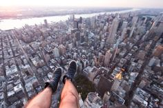 NYC Midtown Shoe Selfie with FlyNYON. Doorless Helicopter Flights taking Aerial Photography to New Heights! Shoe Selfie, Aerial Photography, New York City, New York Skyline, Nyc, Travel, Viajes, New York, Trips