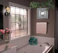 decorative windows for bathrooms | Window Frame Construction Material