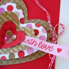 Learn how to create a Heart-Shaped Card