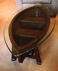 Magnussen - Oval Row Boat Cocktail Table