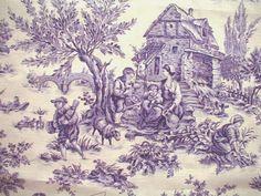 Lavender toile