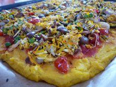 Těsto na pizzu z polenty