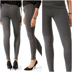 sale  Moto leggings Comfy, stretchy and trendy. Can be worn with ankle boots or pumps. Very edgy look. Forever 21 Pants Leggings