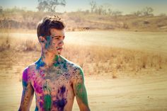 Photographer: Marlee Steyn Blue Blood Photography  Color powder / Holi powder / fun idea / colorful / photo shoot Holi Powder, Blue Bloods, Wetsuit, Photo Shoot, Colorful, Swimwear, Fun, Photography, Fashion