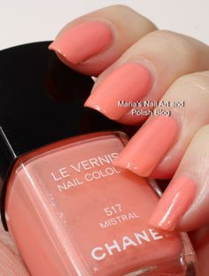Chanel Mistral 517 Les Pop-Up collection summer 2010 swatches